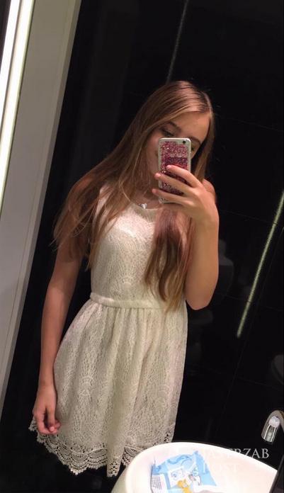 Oliwia Bieniuk na Wigilii 2016 - stylizacja