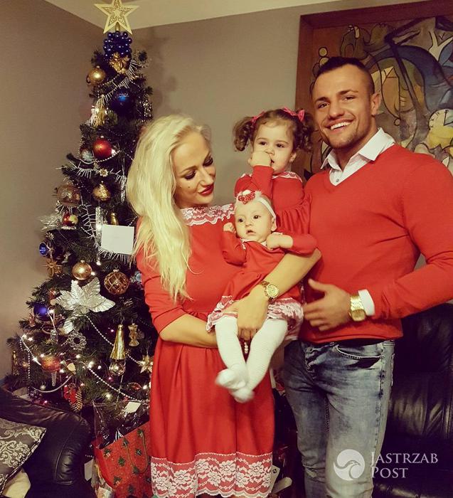 Eliza i Trybson z córkami - Wigilia 2016