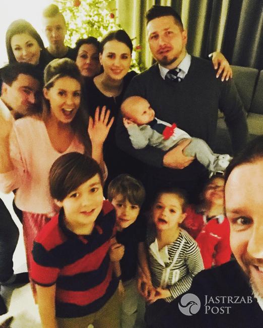 Cała rodzina Małgorzaty i Radosława Majdanów