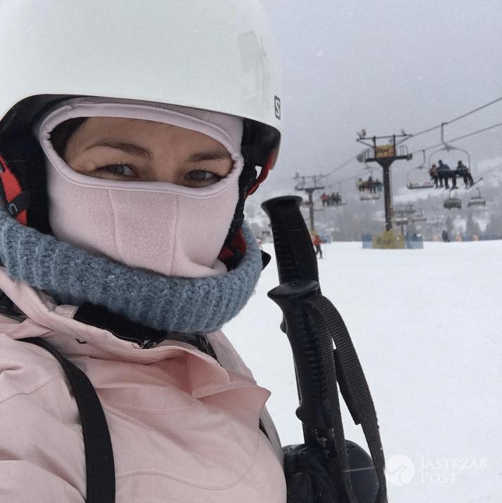 Katarzyna Cichopek na nartach w Zakopanem - Instagram