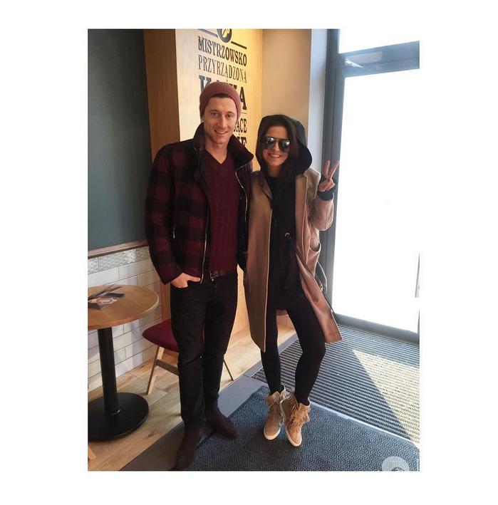 Anna i Robert Lewandowscy wylecieli do Dubaju - Instagram