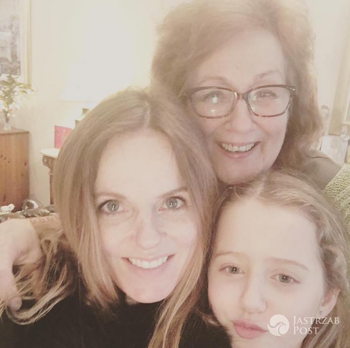 Geri Halliwell Horner z córką Bluebell - Instagram