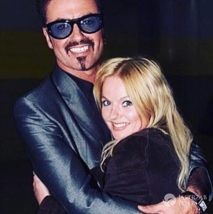 George Michael i Geri Halliwell - Instagram