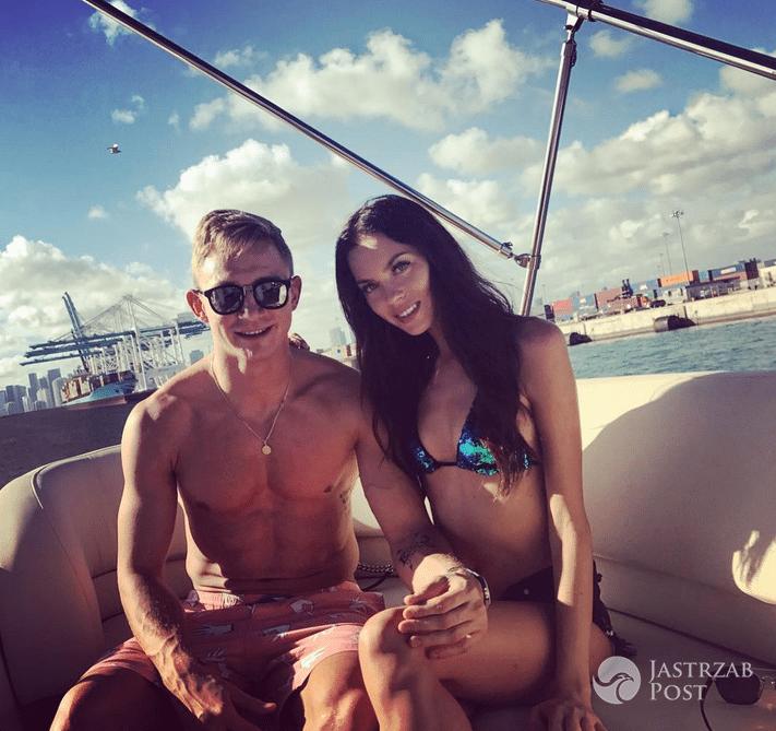 Jakub Rzeźniczak i Edyta Zając spędzą Sylwestra w Miami - Instagram