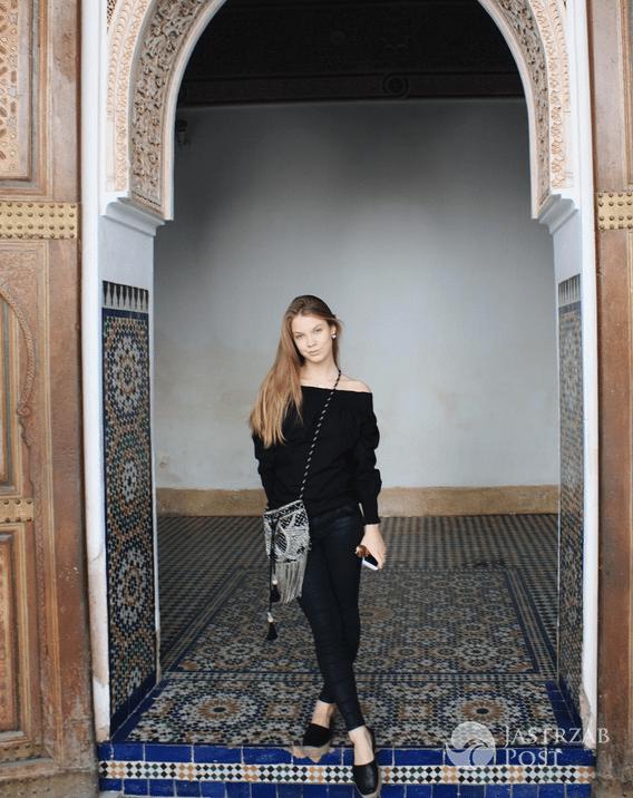 Iga Lis na wakacjach w Marrakeszu - Instagram