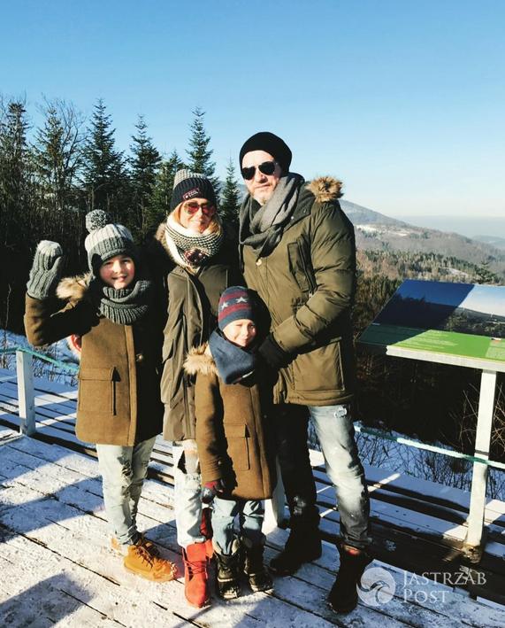 Małgorzata Rozenek i Radosław Majdan z dziećmi spędzą Sylwestra w Wiśle - Instagram