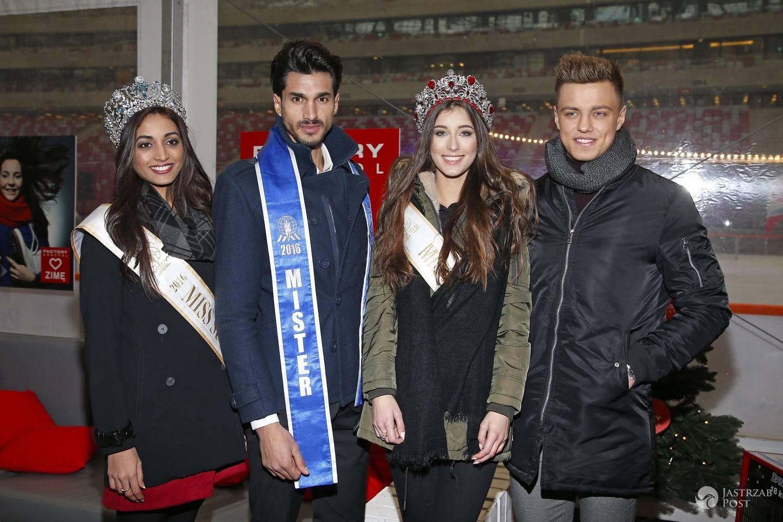 Rafał Jonkisz, Paulina Maziarz, Srinidhi Shetty, Diego Garcy - WF na Zimowym Narodowym 2016