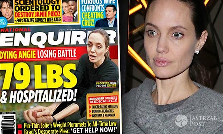 Angelina Jolie jest chora