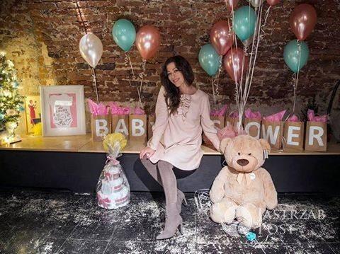 Natalia Kukulska - baby shower