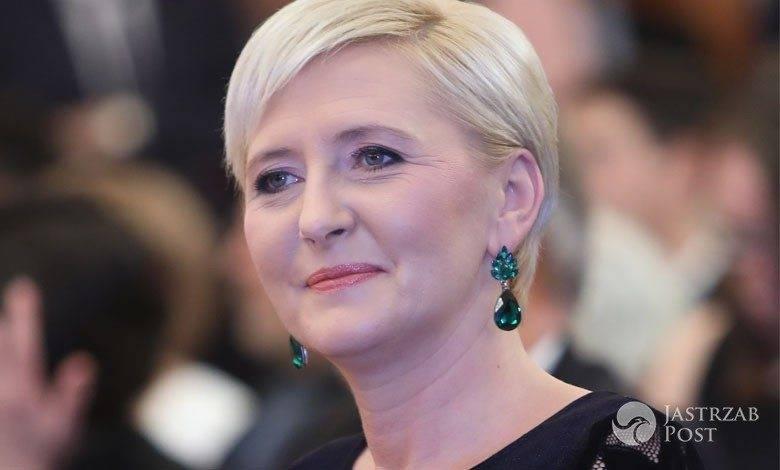 Agata Duda i Andrzej Duda w Berlinie