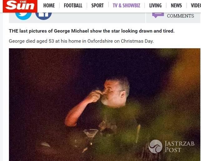 Ostatnie zdjęcia George'a Michaela