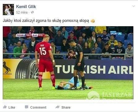 Kamil Glik o Sylwestrze z Andrzejem Dudą