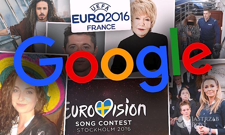 Czego szukali Polacy w Google 2016