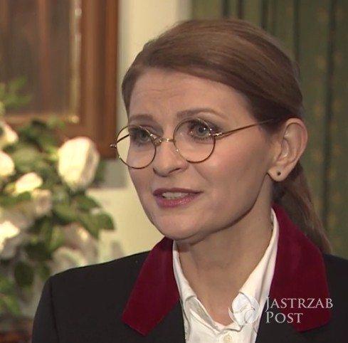 Nowa fryzura Ireny Kamińskiej-Radomskiej