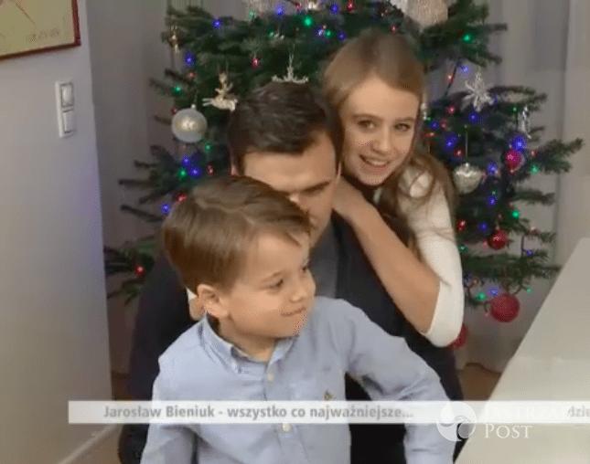 Jarosław Bieniuk z dziećmi w świątecznym wywiadzie dla Dzień Dobry TVN