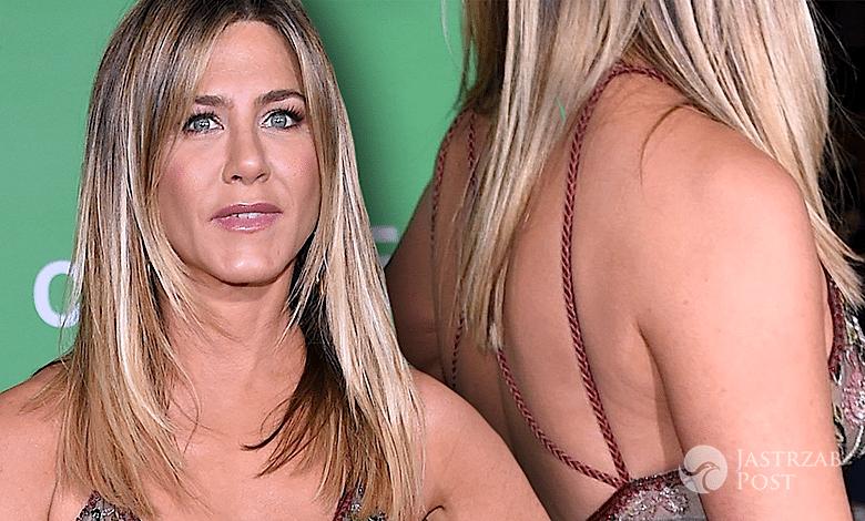 Jennifer Aniston świąteczna impreza