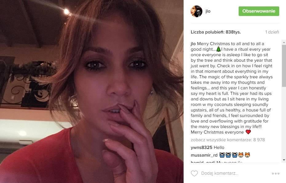 Jennifer Lopez - Instagram