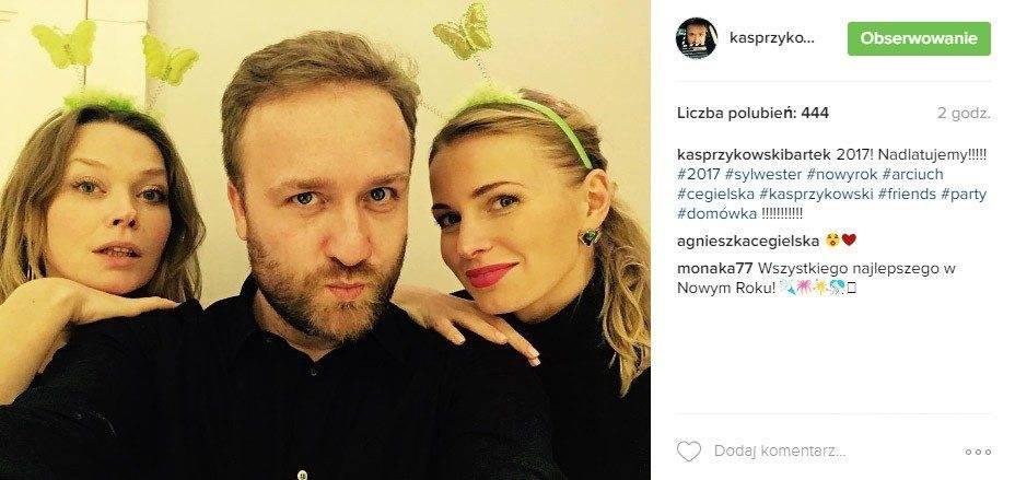 Bartek Kasprzykowski, Tamara Arciuch, Agnieszka Cegielska - Sylwester 2016