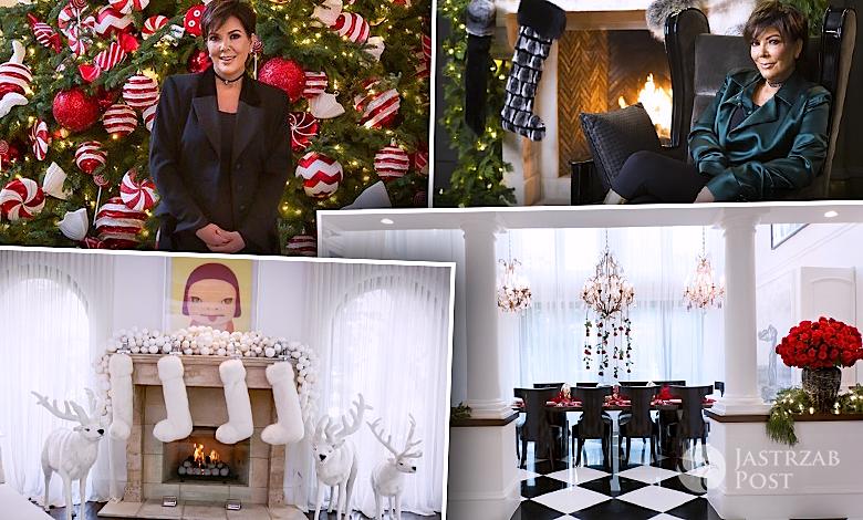 Kris Jenner dom na święta