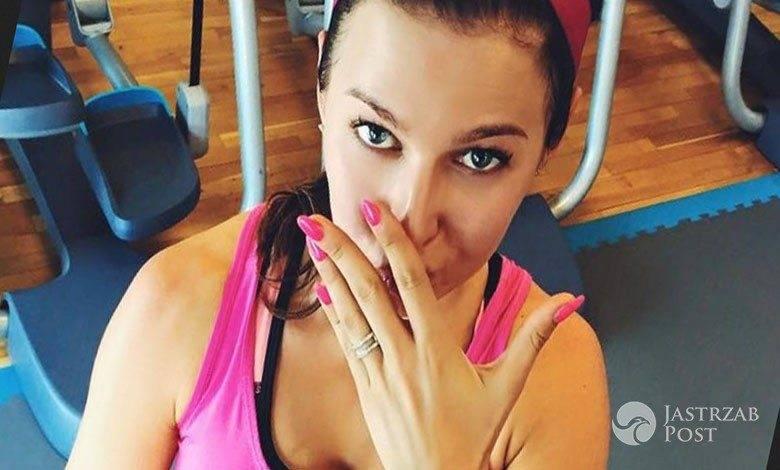 Anna Lewandowska chwali się ciążowym brzuszkiem