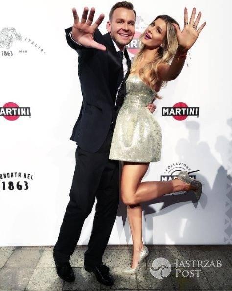 Dawid Woliński z Joanną Krupą - Martini Asti Vintage 2016 (fot. Instagram)