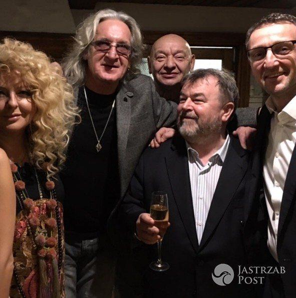 Weronika Rosati wyprawiła ukochanemu urodziny w restauracji AleGloria (fot. Instagram Magda Gessler)