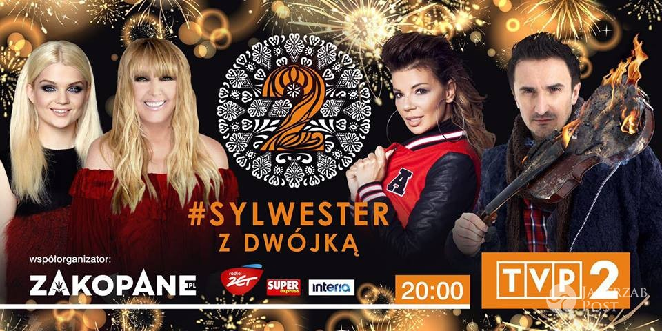 Plakat Sylwestra z Dwójką 2016/17