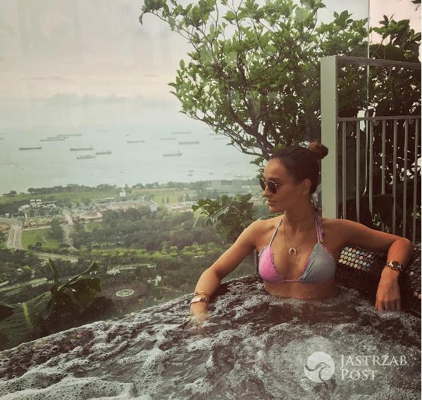 Marina Łuczenko na wakacjach
