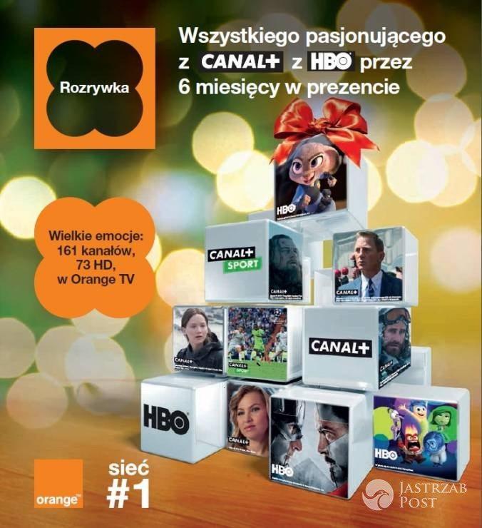 Orange TV - usługa Orange na święta