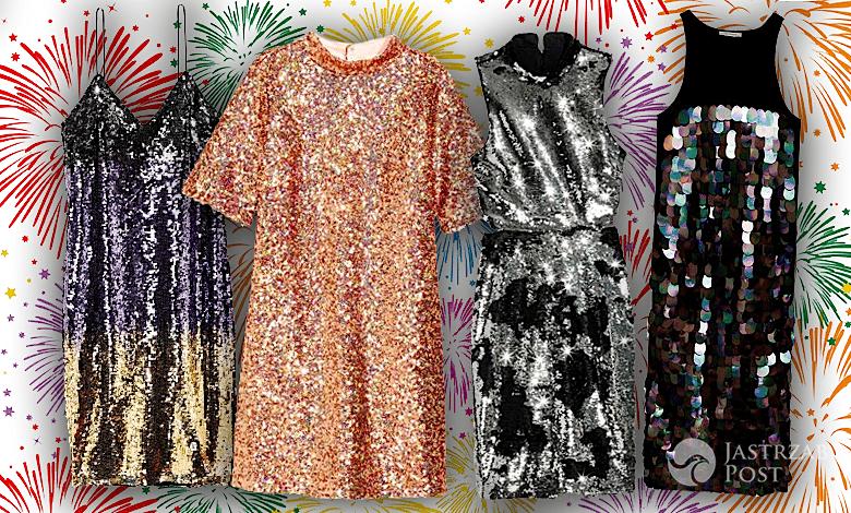 Sukienki na Sylwestra 2016 cekiny