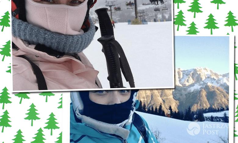 Aneta Zając i Kasia Cichopek na nartach
