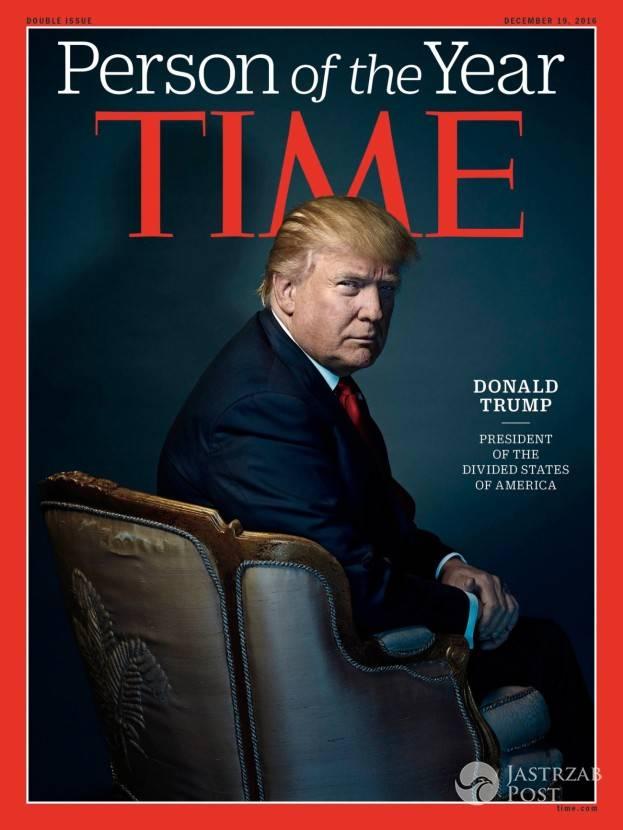 Donald Trump człowiekiem roku magazynu Times
