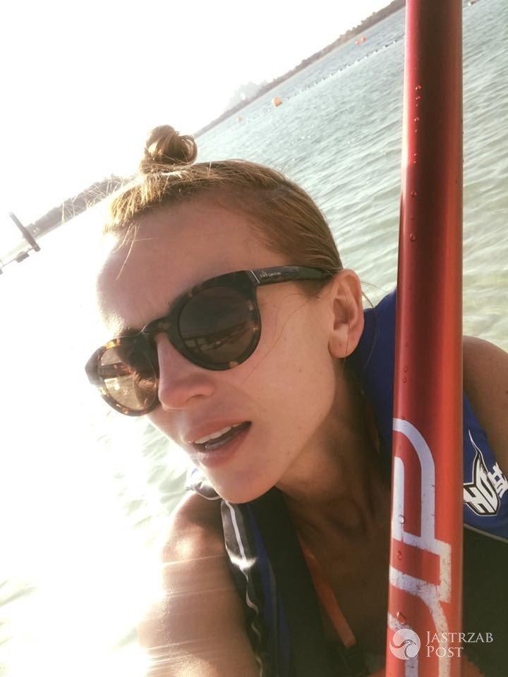 Katarzyna Zielińska na wakacjach w Dubaju (fot. Facebook)