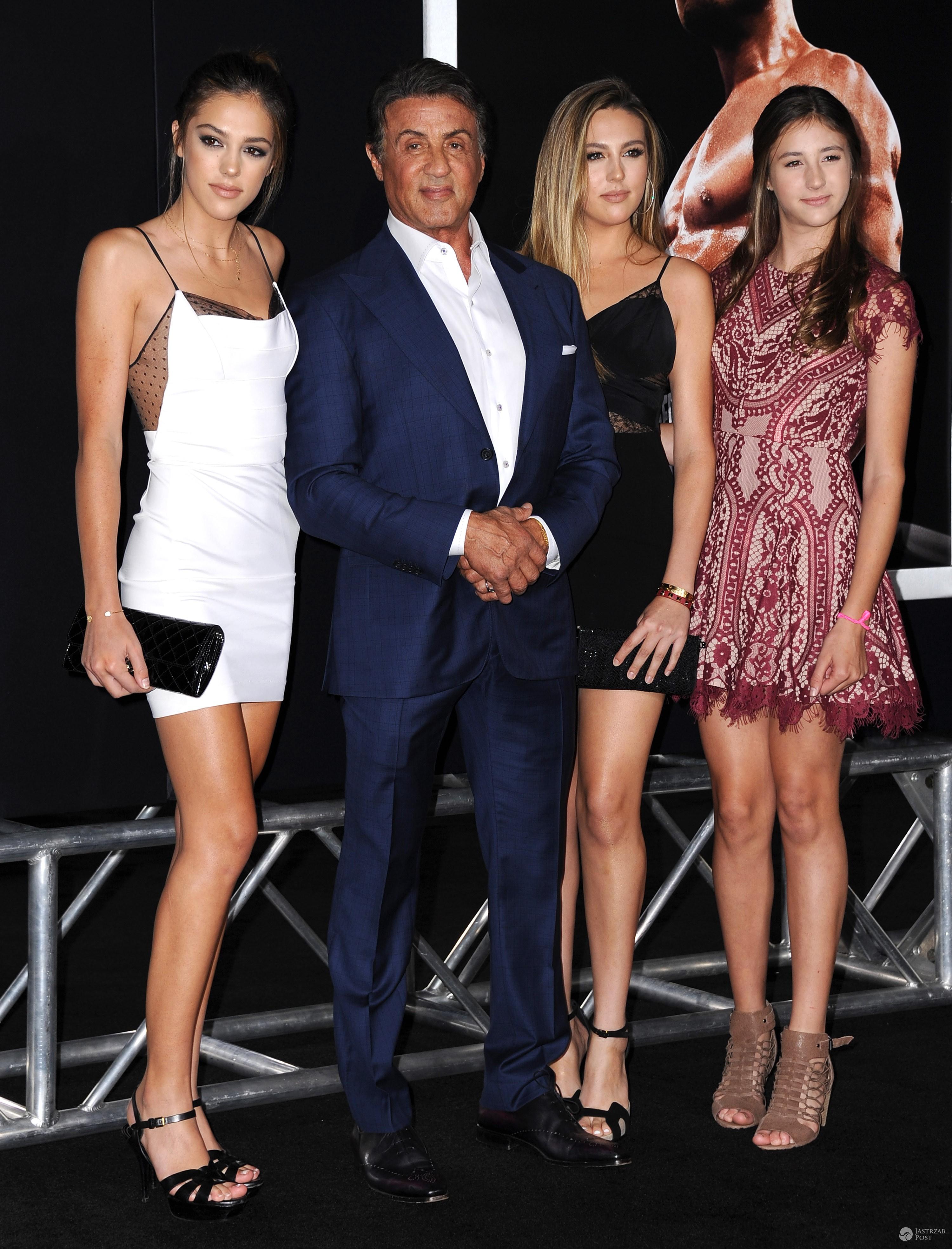 Sistine Stallone, Sophia Stallone, Scarlet Stallone