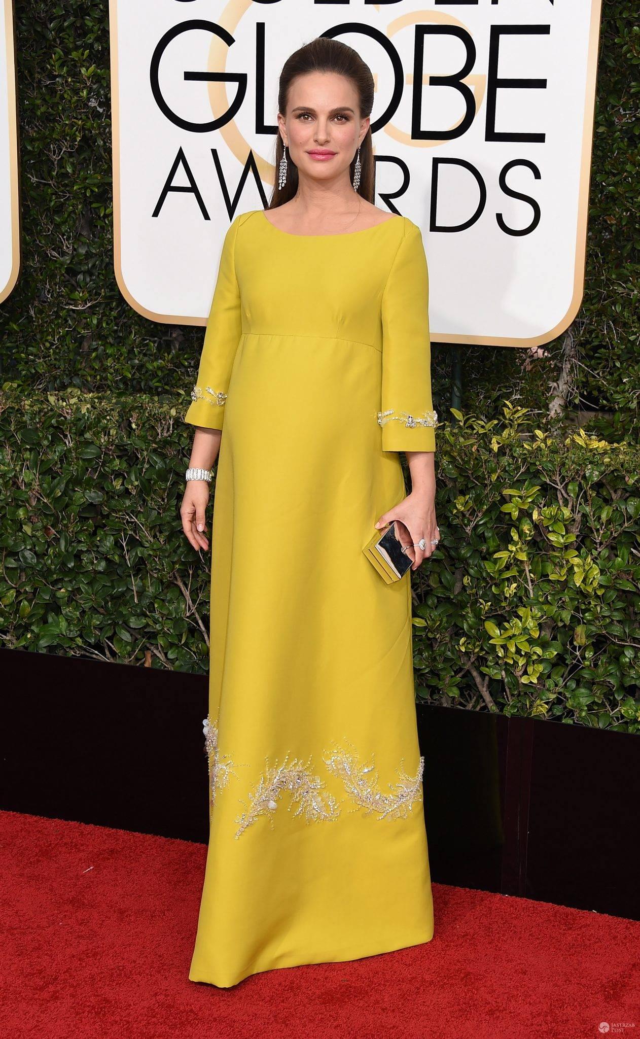 Natalie Portman - Złote Globy 2017