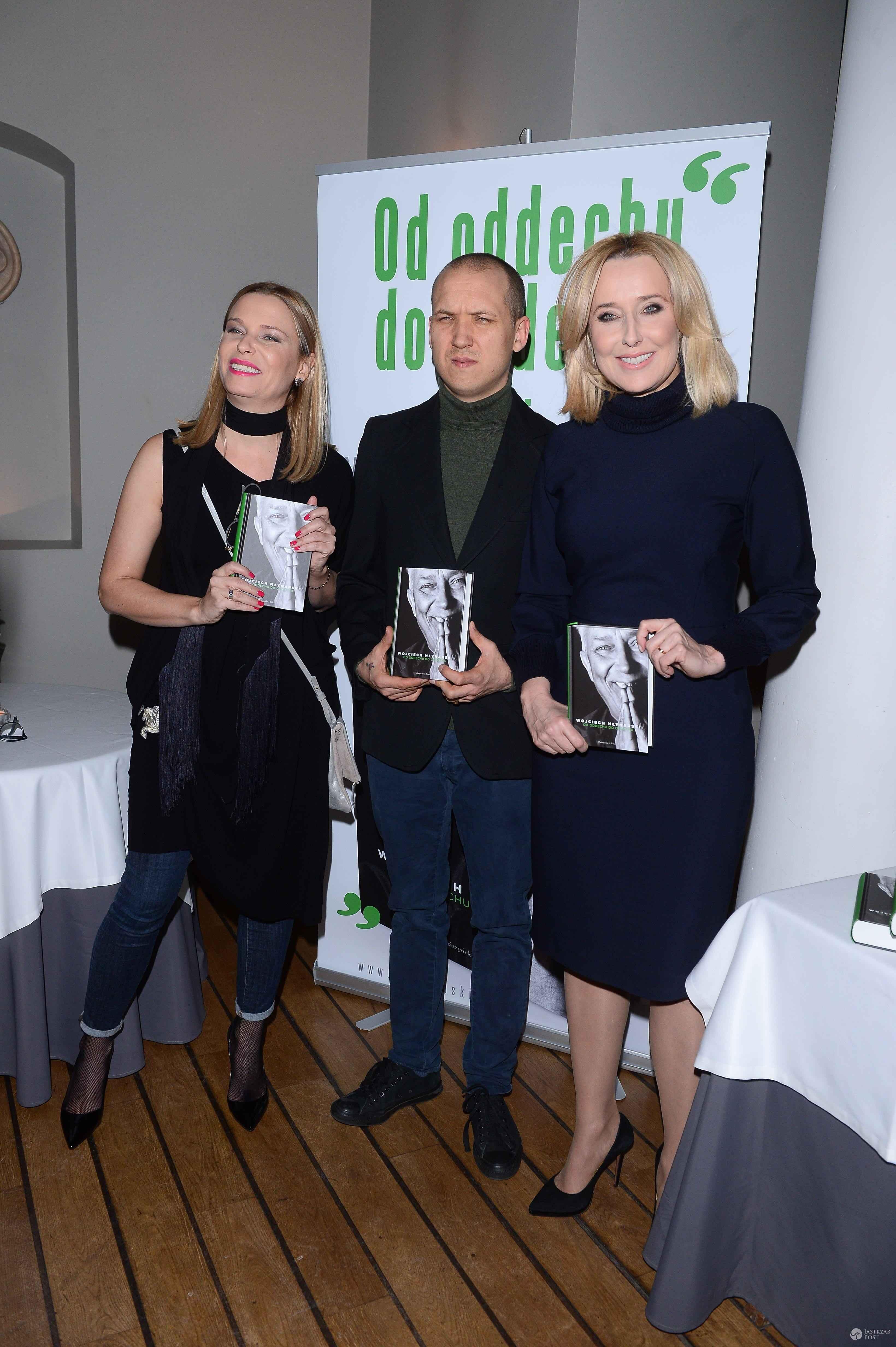 Paulina Młynarska i Agata Młynarska - Premiera książki o Wojciechu Młynarskim