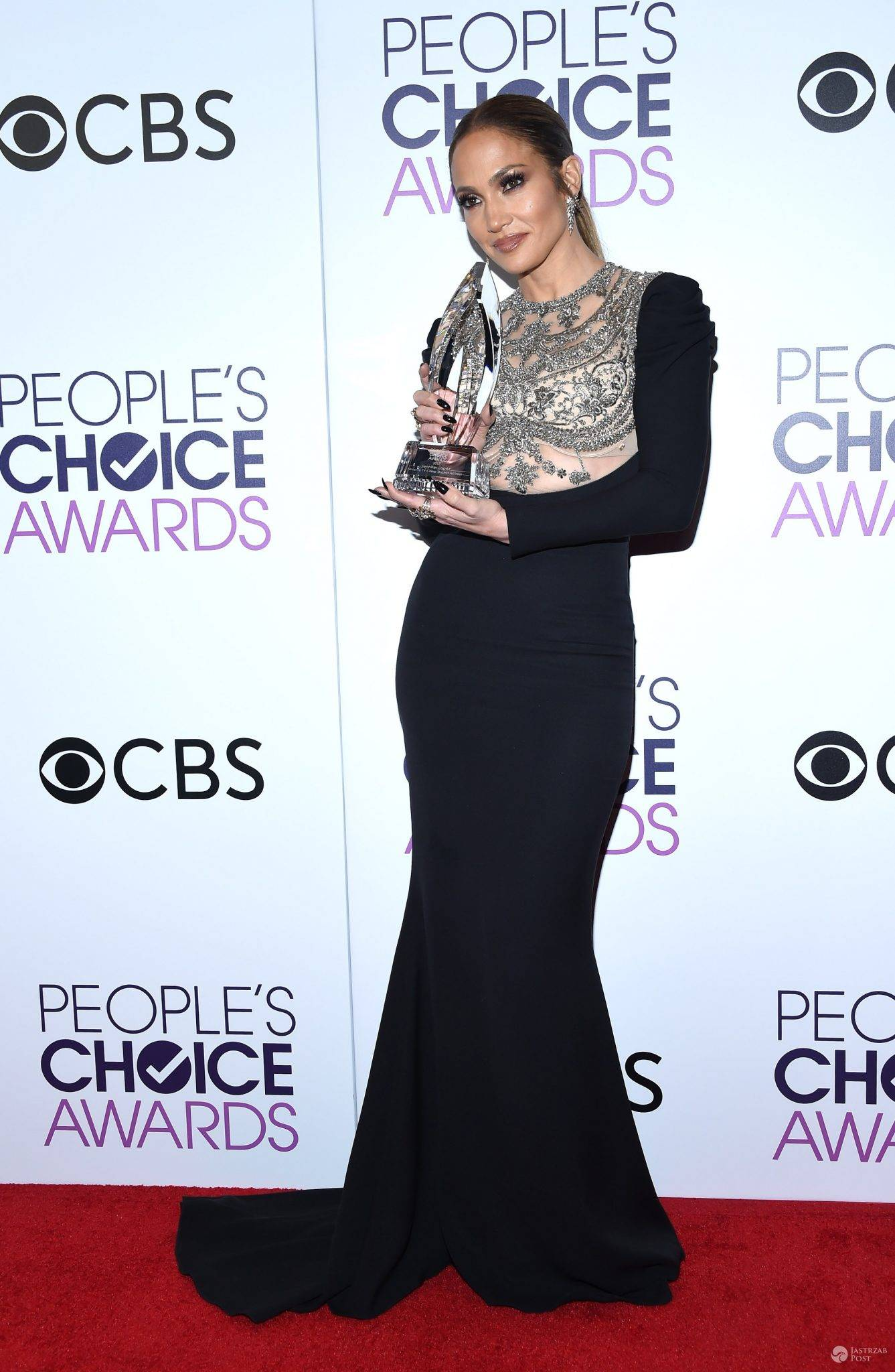 Jennifer Lopez gala People's Choice Awards 2017