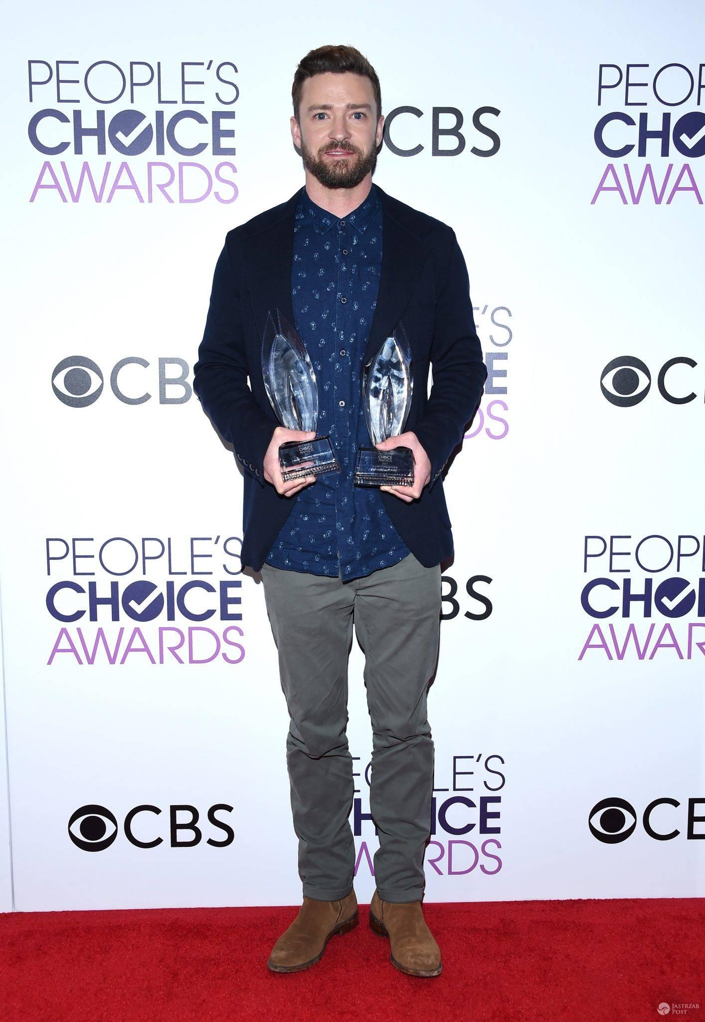 Justin Timberlake - People's Choice Awards 2017