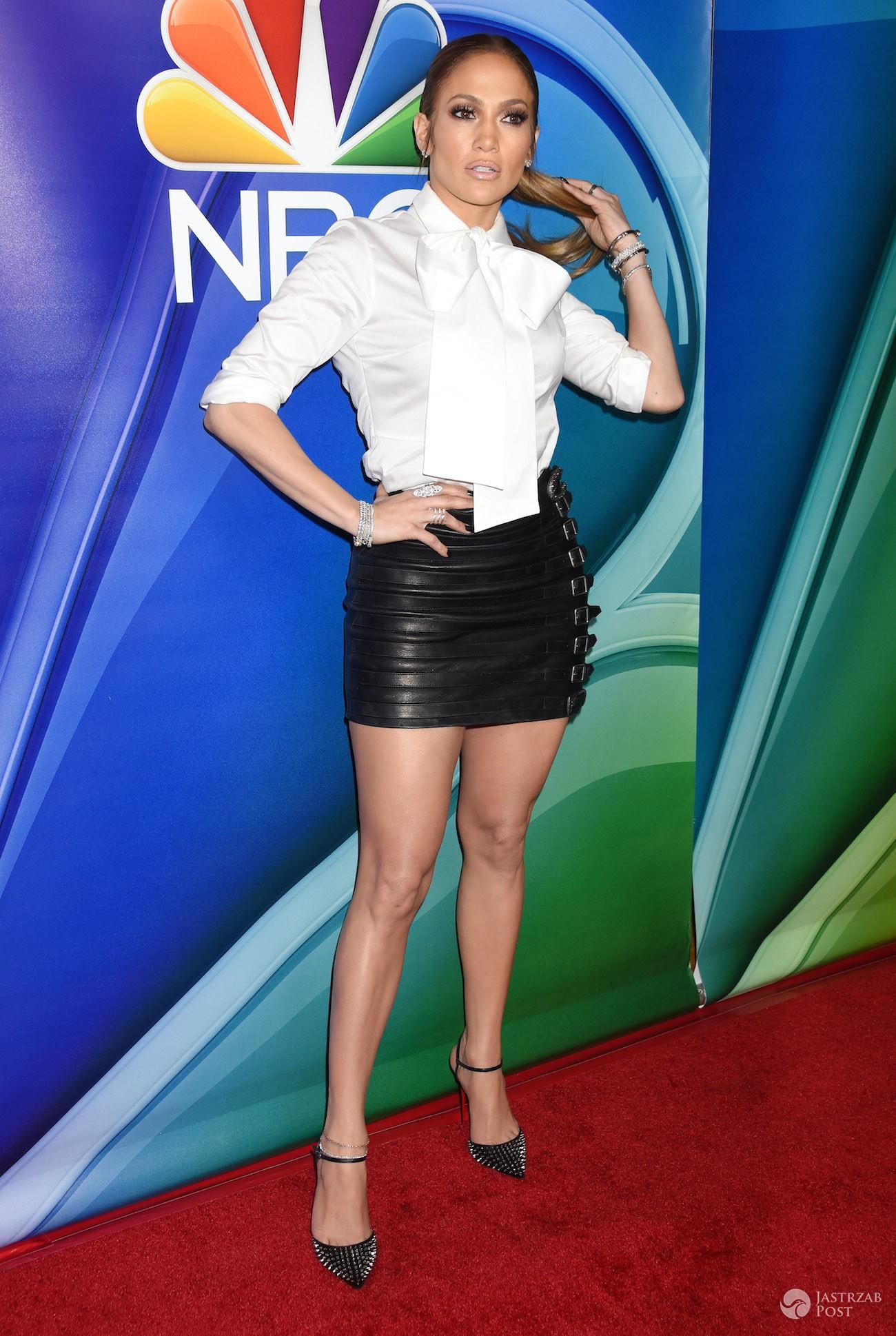 Jennifer Lopez na imprezie NBC 2017