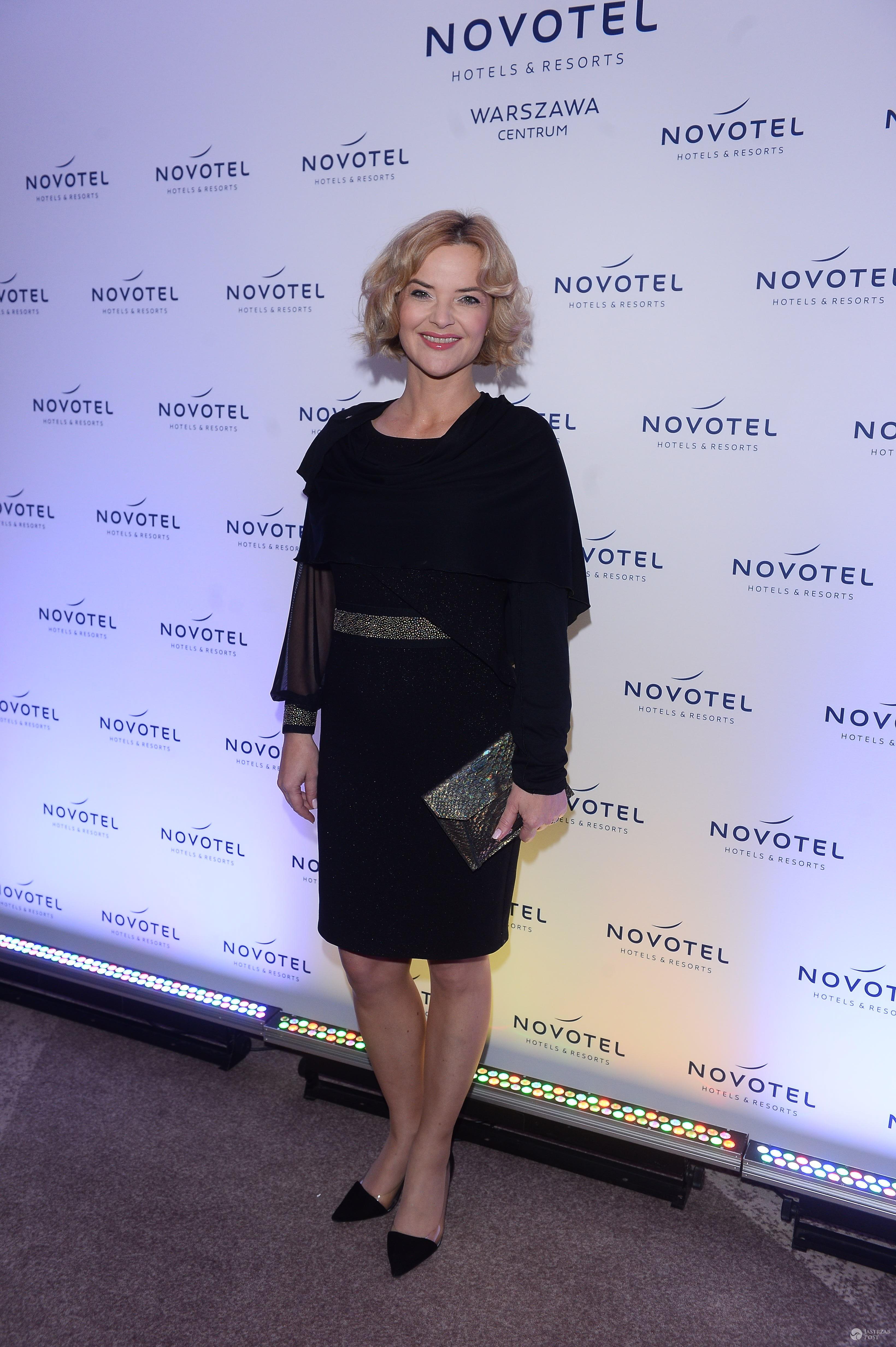 Monika Zamachowska - prezentacja nowej oferty w Hotelu Novotel