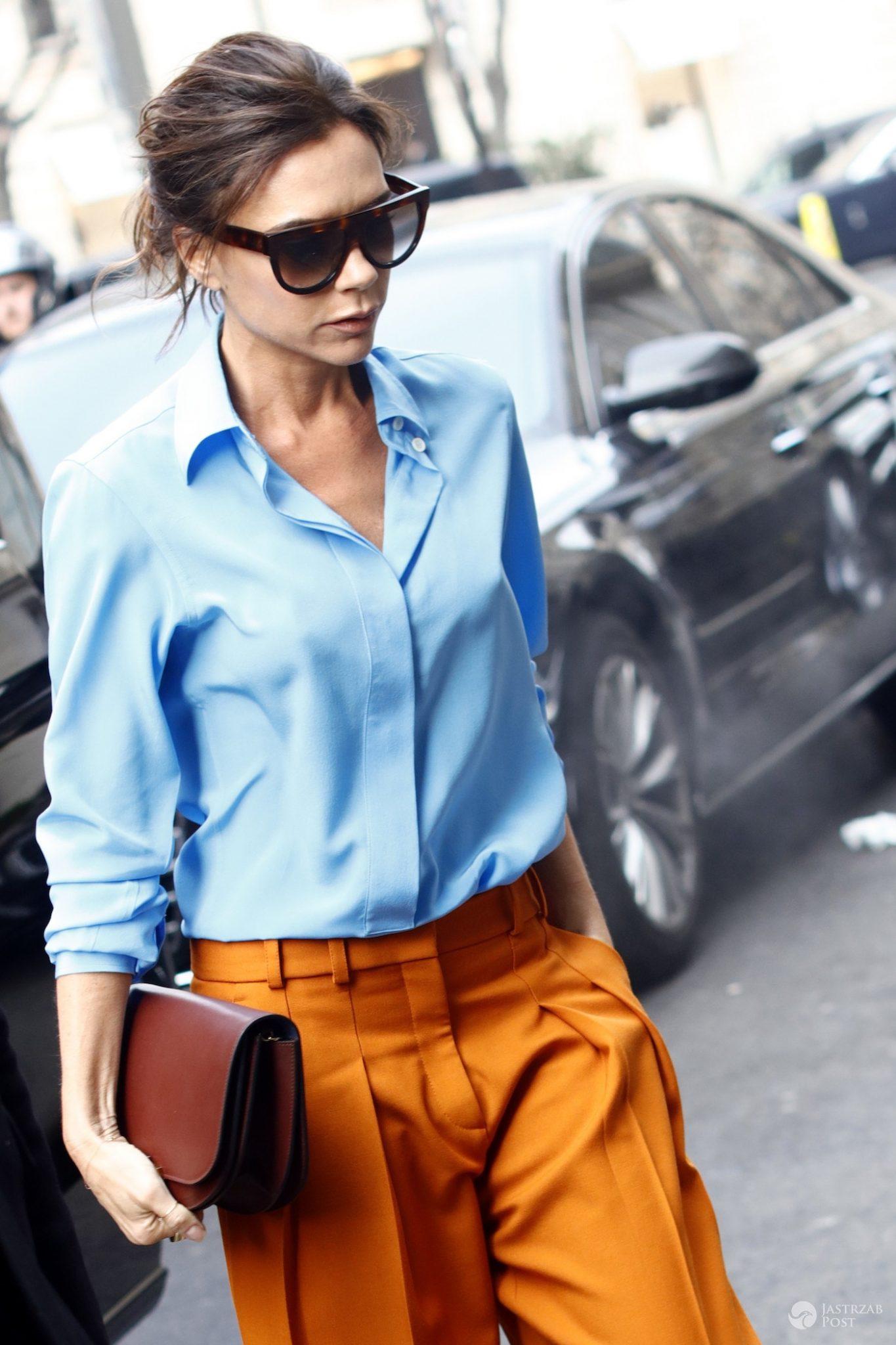 Victoria Beckham schudła? Zdjęcia z Paris Fashion Week 2017