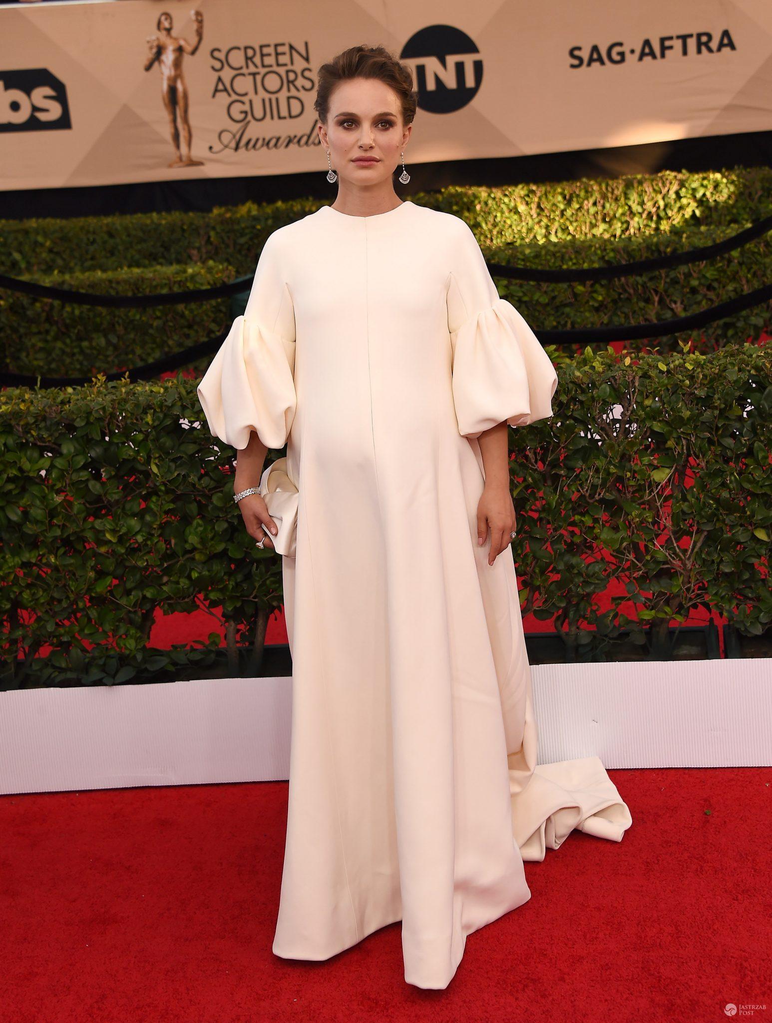 Natalie Portman w kreacji marki Dior - SAG Awards 2017