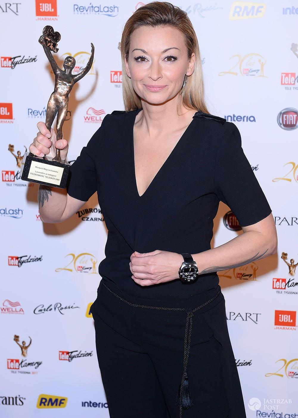 Martyna Wojciechowska wygrała TeleKamerę 2017 w kat. Osobowość telewizyjna