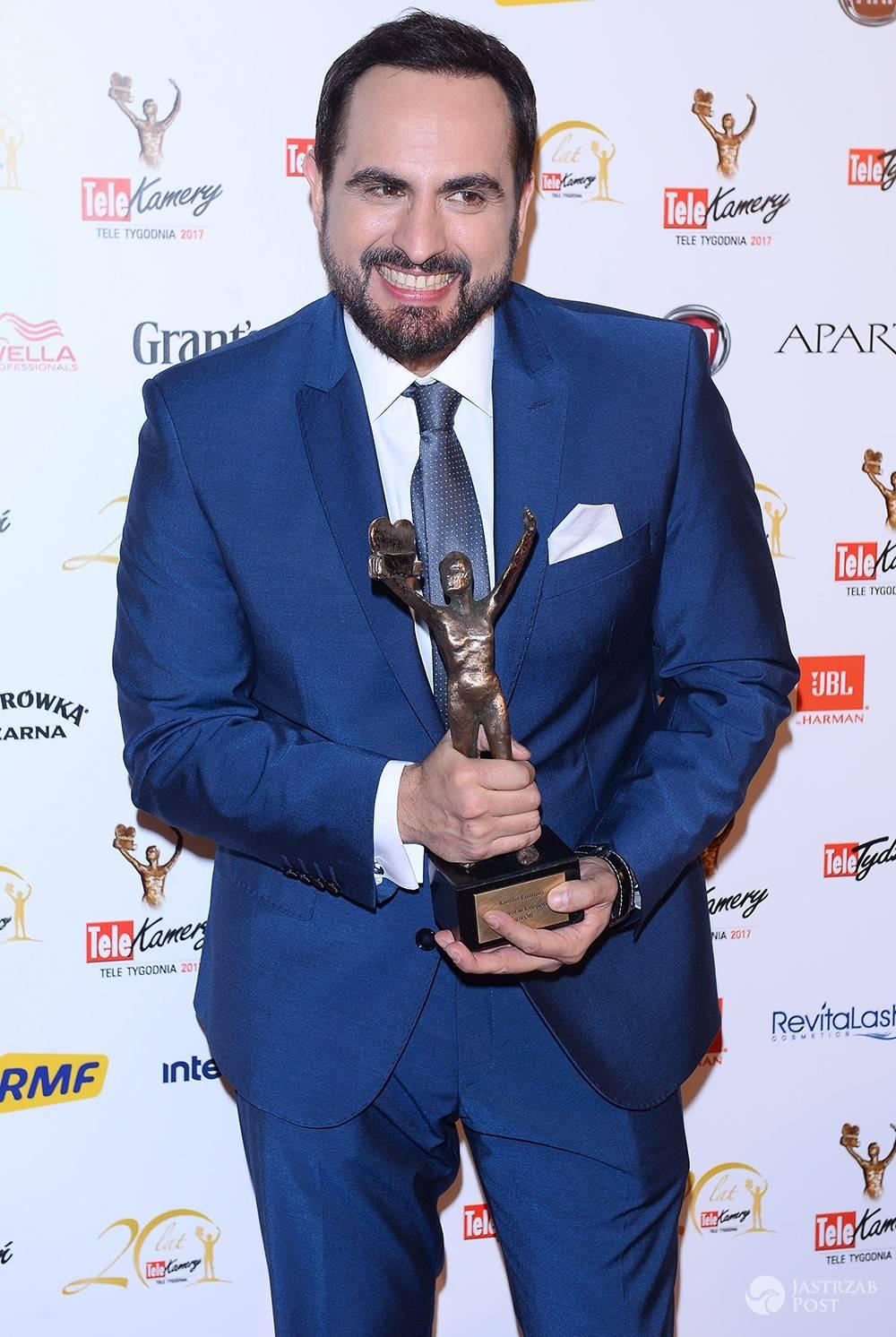 Agustin Egurrola wygrał TeleKamerę 2017 w kategorii juror