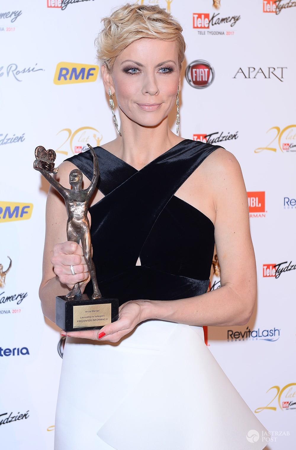 Anita Werner - najlepszy prezenter informacyjny - TeleKamery 2017
