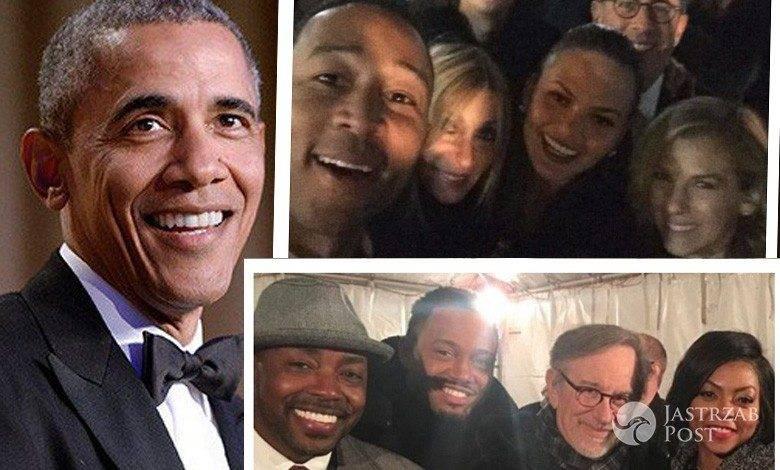 Gwiazdy na imprezie pożegnalnej Baracka Obamy. Zdjęcia