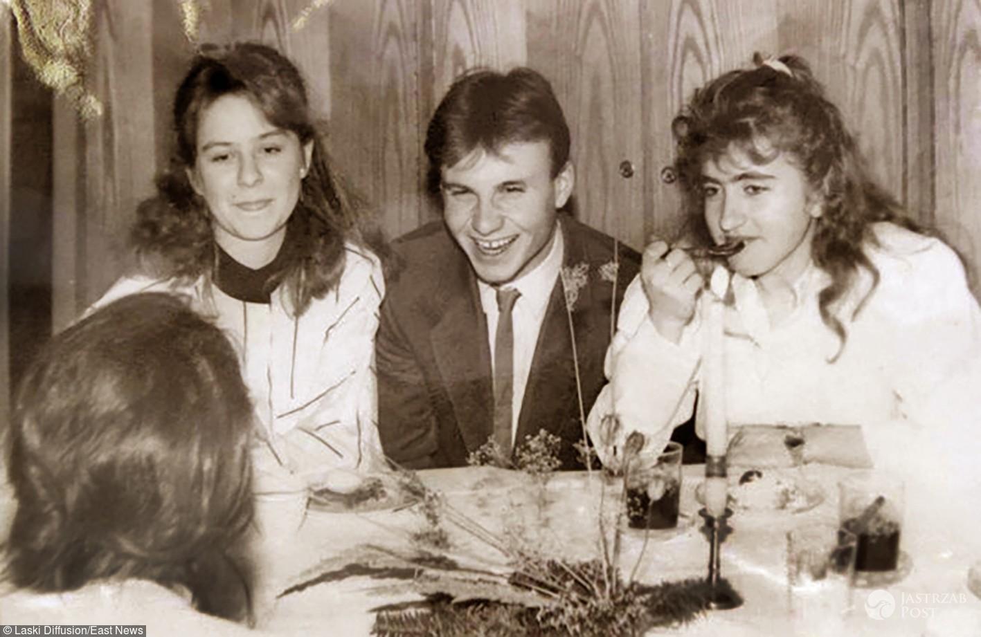 Andrzej Duda na imprezie w 1989 roku. Młody Duda