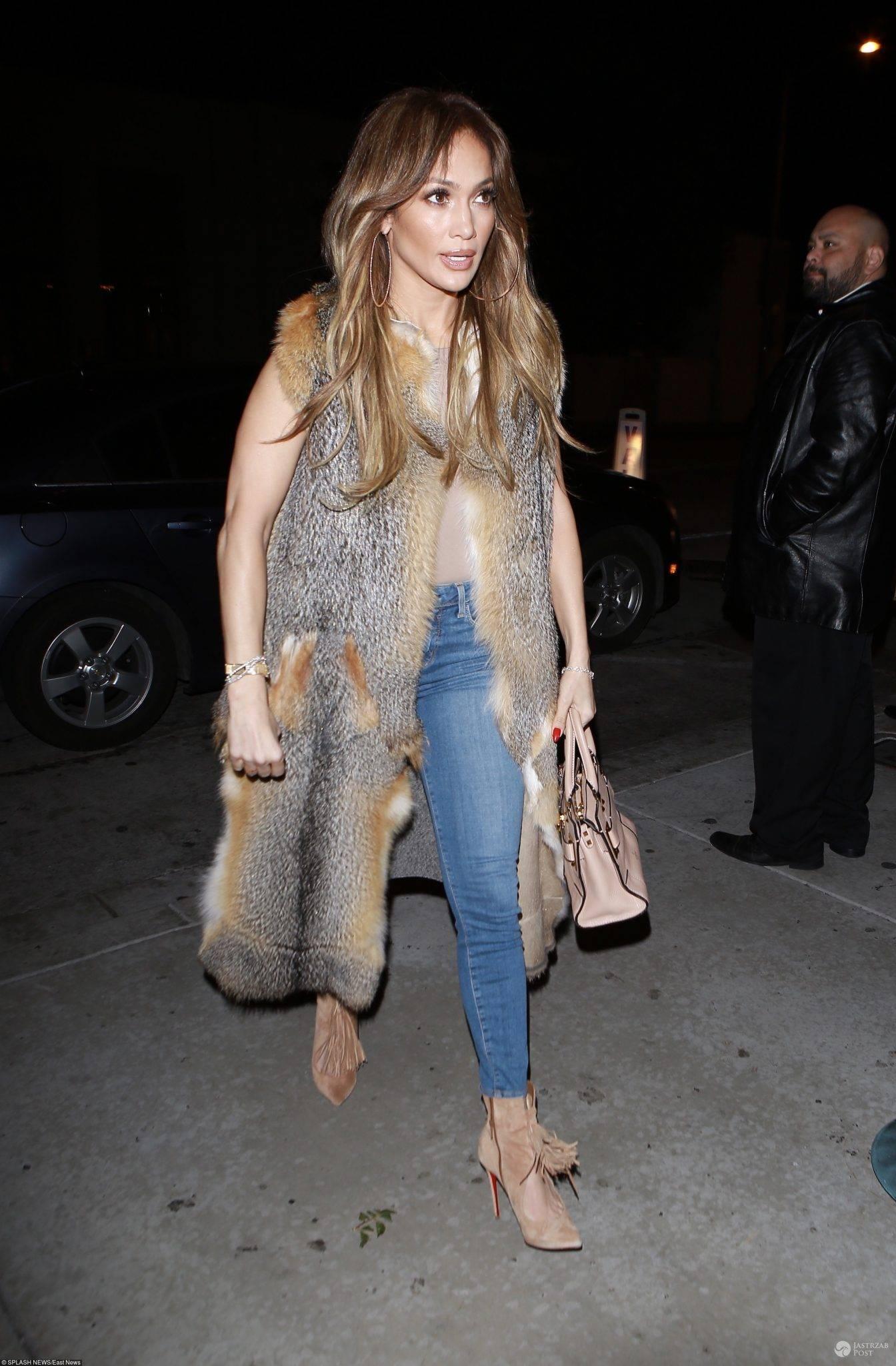 Jennifer Lopez podczas randki z Drake'iem (fot. East News)