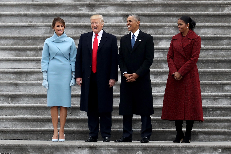 Melania Trump - zaprzysiężenie Donalda Trumpa