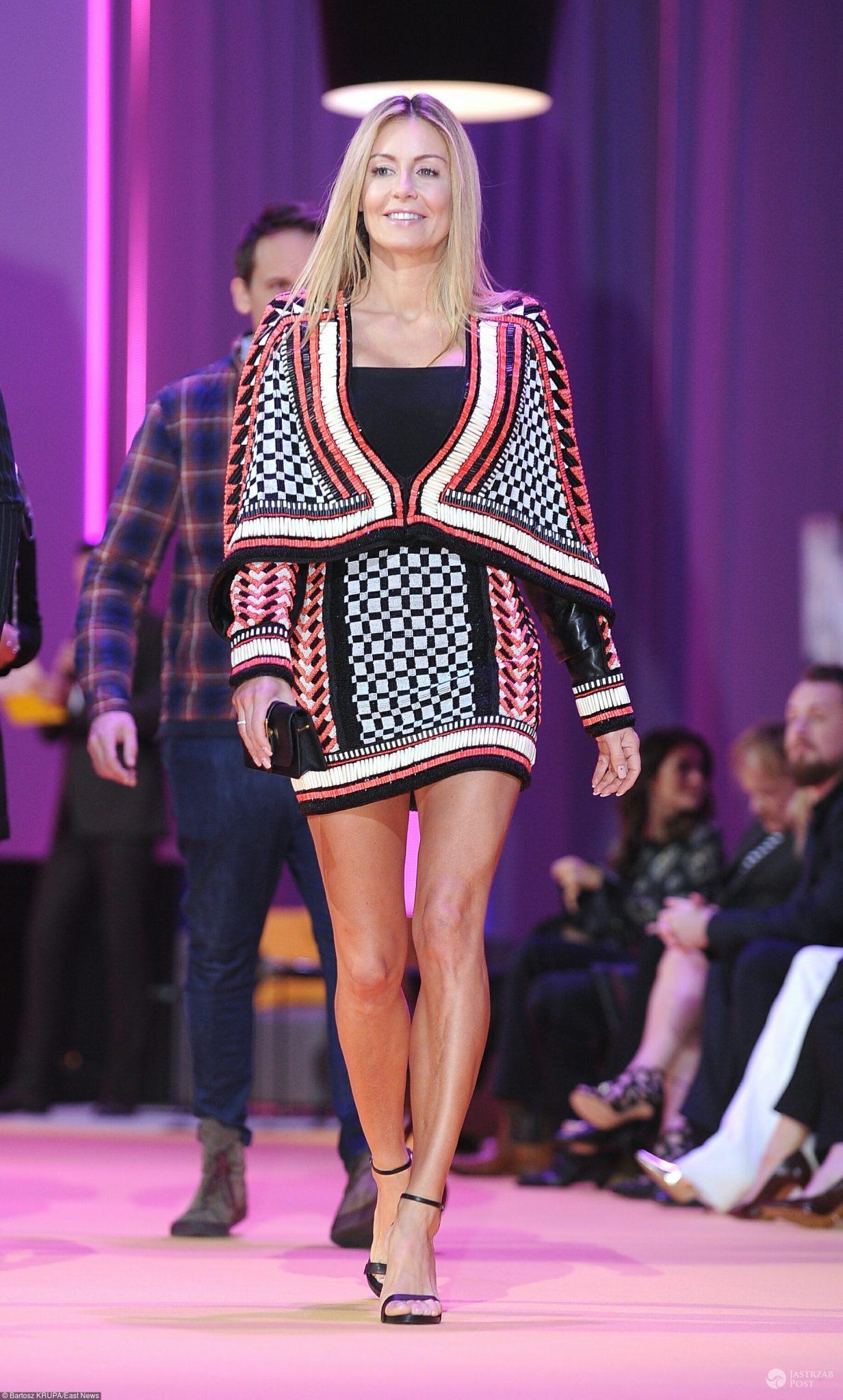 Małgorzata Rozenek w sukience jak Kim Kardashian